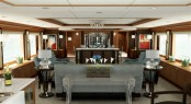 Trinity yachts superyacht BLIND DATE main saloon