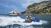 There are unlimited possibilities to enjoy your Mediterranean charter vacation aboard Quinta Essentia