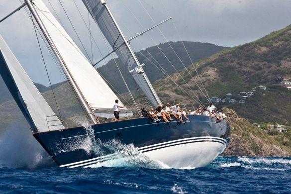 115ft charter yacht Sojana Photo by Chris Odom