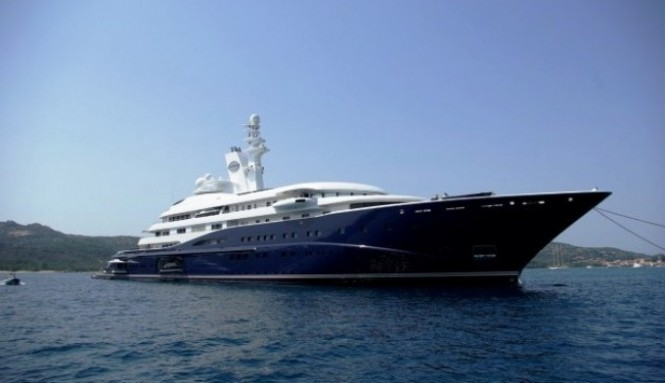 133m megayacht Al Mirqab  - Photo Credit Vittorio Nico