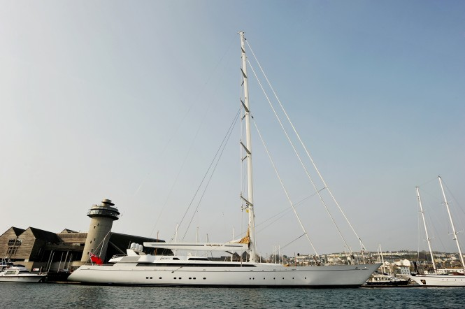 247ft Mirabella V Superyacht