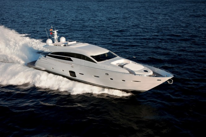 28m luxury motor yacht Pershing 92 Credit Ferretti Group