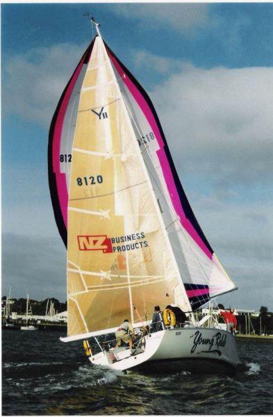 36´ sailing yacht Young Rebel