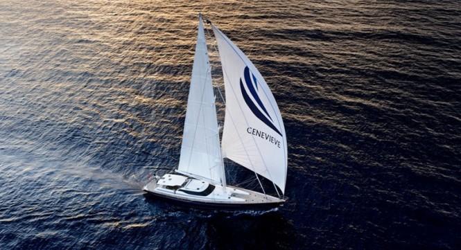 36.9m luxury yacht GENEVIEVE