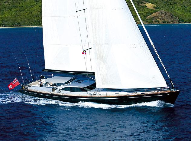 37m luxury yacht MOONBIRD (ex Moonlight)