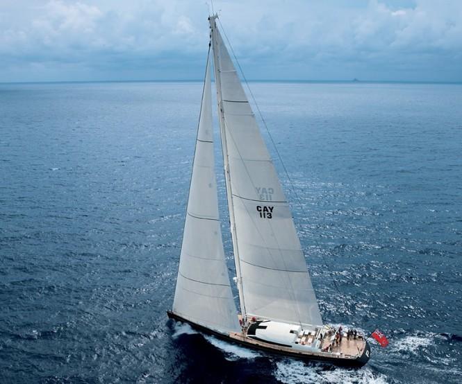 38m luxury charter yacht P2 by Perini Navi