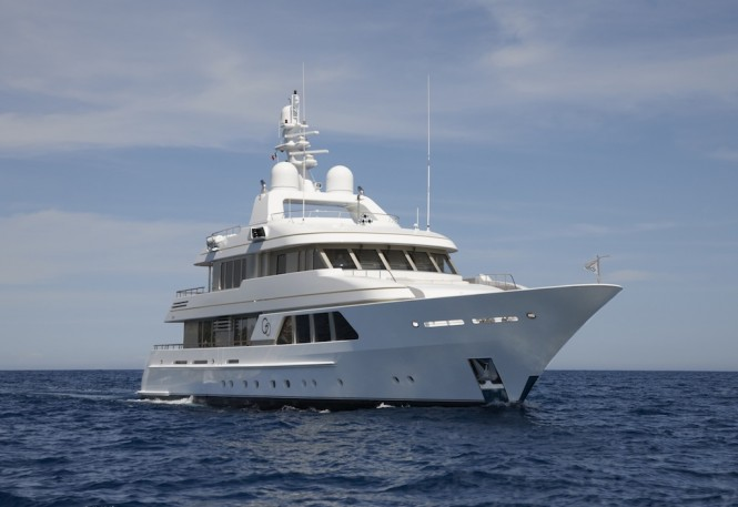 39m Luxury Charter Yacht GO by Feadship