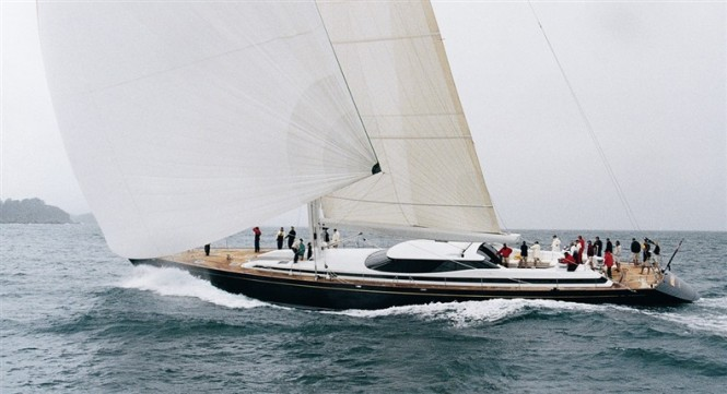 40.3m sailing yacht NUBERU BLAU (ex Kokomo of London)