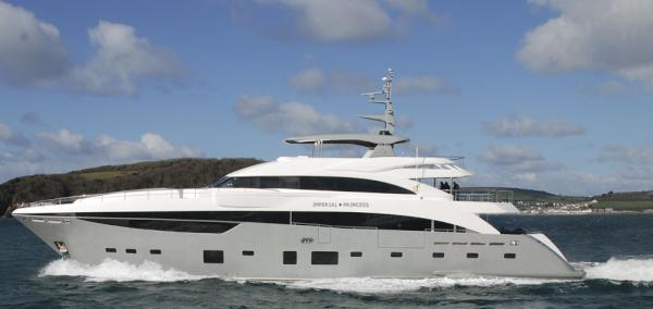 40m luxury motor yacht Imperial Princess by Princess Yachts