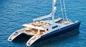 44 m luxury charter catamaran Hemisphere