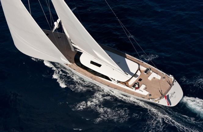 49.7m luxury sailing yacht ZEFIRA