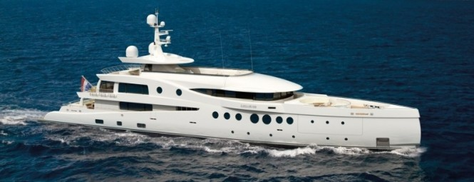 60m motor yacht AMELS 199