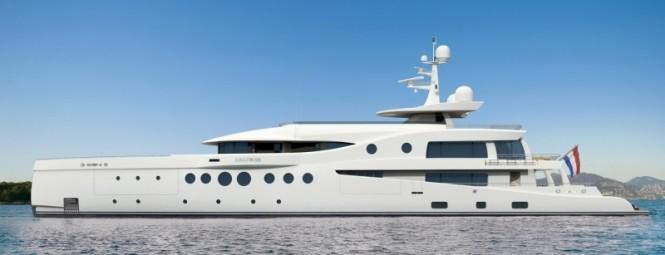 60m motor yacht Amels 199 Transatlantic range and unmatched comfort