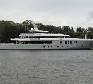 Nobiskrug 73.55m Megayacht MOGAMBO (ex hull 782) successfully delivered