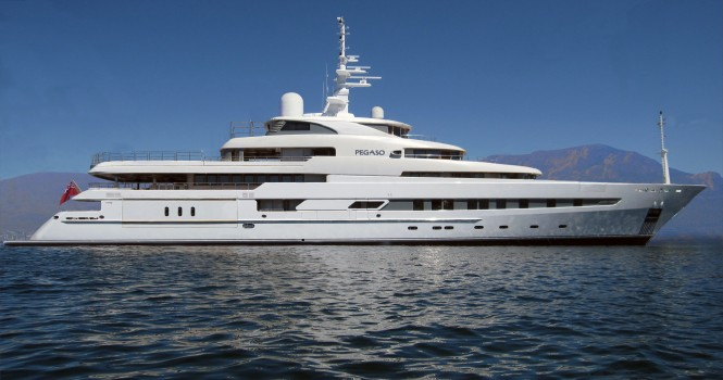 73.6m luxury motor yacht PEGASO