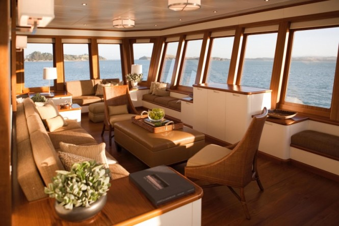 Aboard charter yacht SuRi
