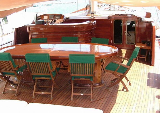 Aboard yacht Grande Mare - a Turkish gulet available for charter