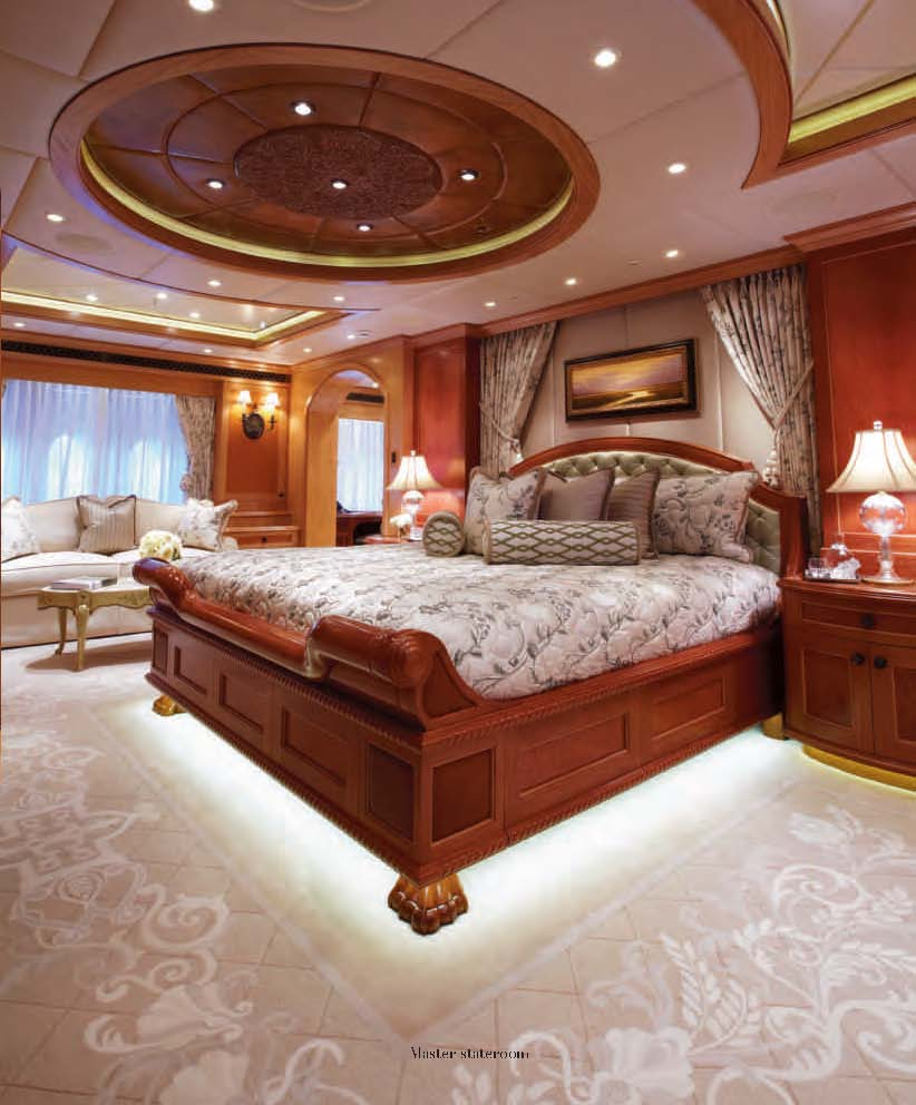 Average Nyc Apartment Bedroom Master Bedroom Design Ideas Nz Bedroom Chair Bedroom With Black Curtains: Accommodation Aboard Motor Yacht Unbridled By Trinity