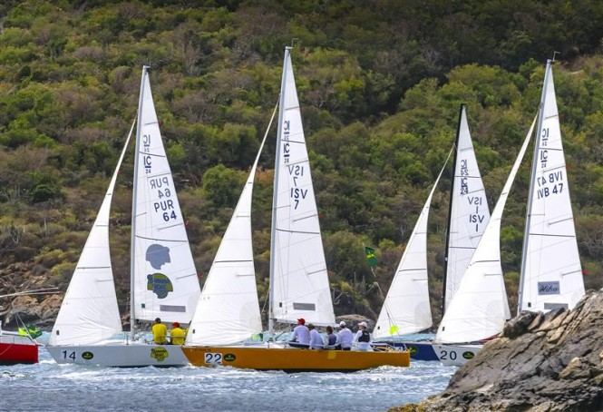 BANANA BOATFUATAKA, first after day one in division IC 24 photo by Rolex Ingrid Abery