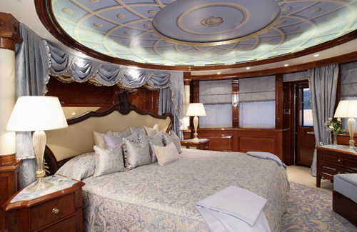 Charter Yacht St Ekaterina - Master Stateroom