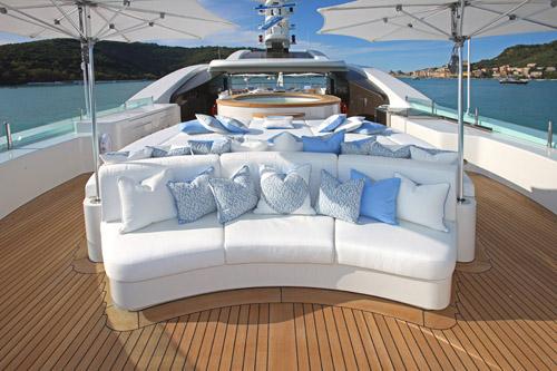 Charter Yacht St Ekaterina - Sundeck Forward