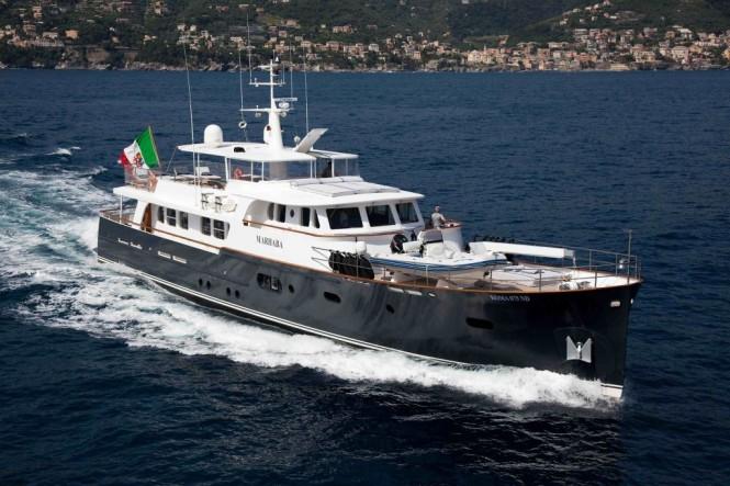 Charter yacht MARHABA
