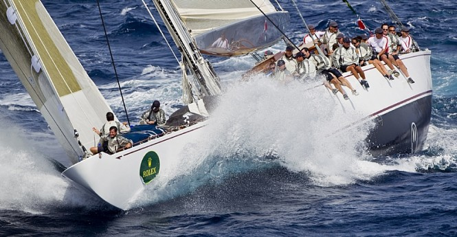 Charter yacht RANGER Image by Carlo Borlenghi/Rolex