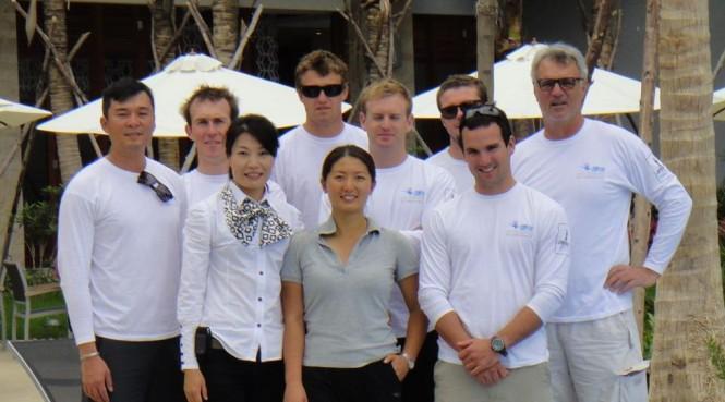 China Team Crew