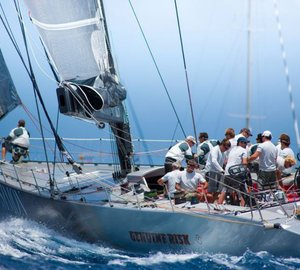 Dubois 90 sailing yacht Genuine Risk to compete in the 2012 Rolex China Sea Race