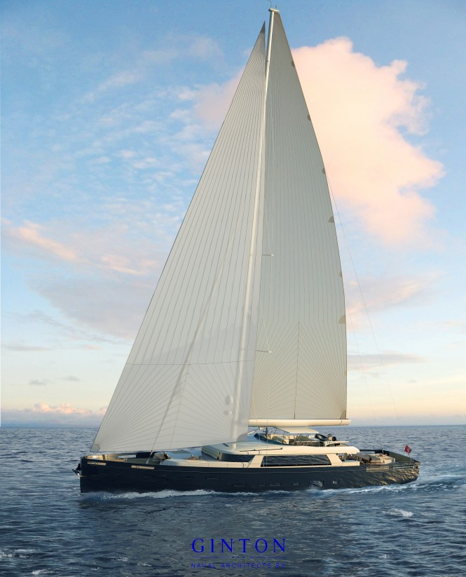 Extreme Superyacht under sail