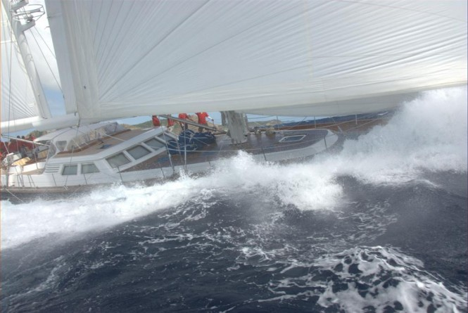 First to sign for Asia Superyacht Rendezvous - 36m sailing yacht Yanneke Too