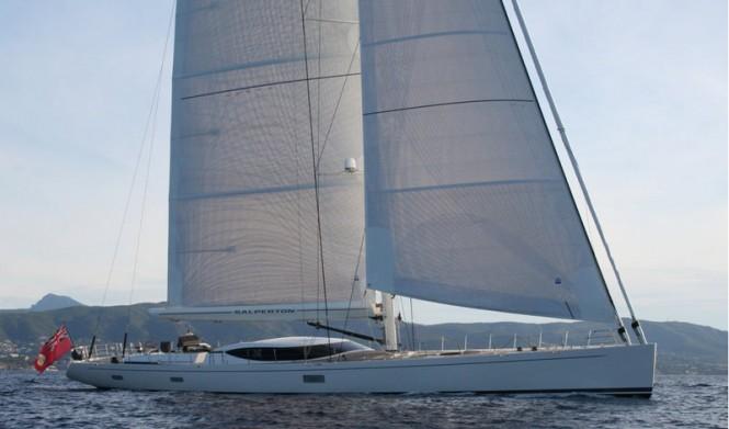 Fitzroy 45m charter yacht Salperton IV