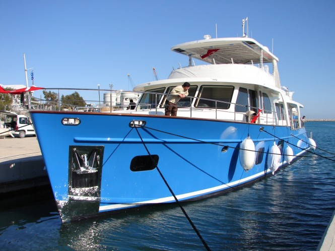 From Antalya V107 MY MONI ready for sea trials