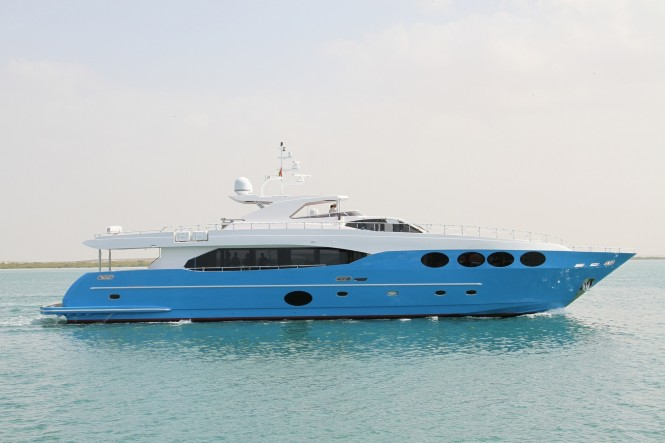 Gulf Craft luxury motor yacht Majesty 105