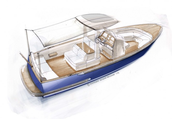 Hodgdon Open Yacht Tender by Andrew Winch Designs