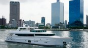 Horizon CC110 luxury motor yacht Lady Gaga