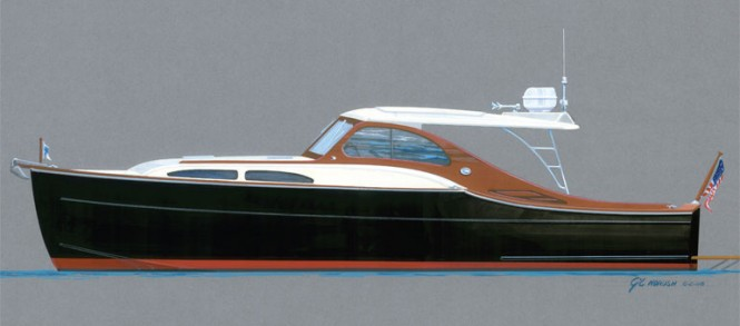 Huckins Sportsman 36 Yacht Tender