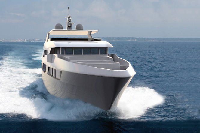 IAG 135 luxury motor yacht King Baby
