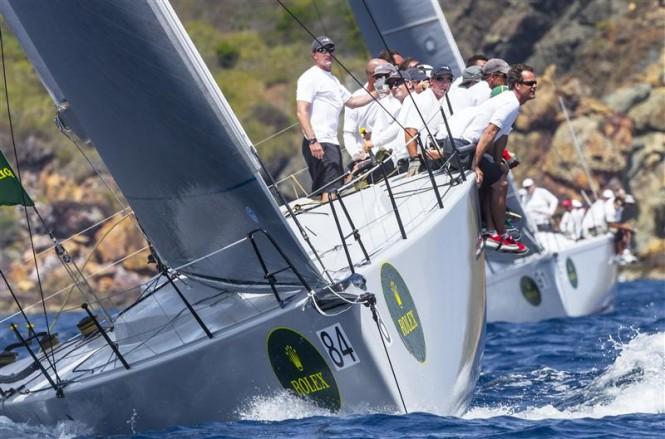 IRC winner POWERPLAY yacht Photo by Rolex Ingrid Abery