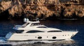 Inspiration II motor yacht available for charter at the Naples America's Cup World Series 2012