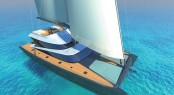 Latitude 27m luxury catamaran yacht Blue Coast 88