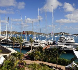 Loro Piana Caribbean Superyacht Regatta & Rendezvous 2012: YCCS Virgin Gorda hosts the Superyacht fleet