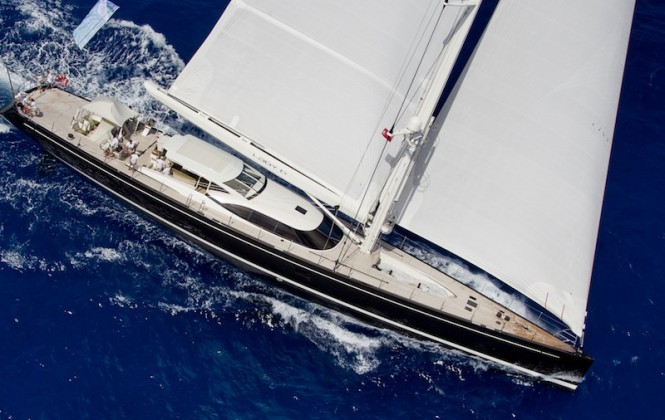 Loro Piana Caribbean Superyacht Regatta & Rendezvous 2012Race Day 1:  LADY B - Photo: © Carlo Borlenghi