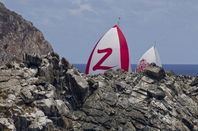 Loro Piana Caribbean Superyacht Regatta & Rendezvous 2012Race Day 1: ZEFIRA - Photo: © Carlo Borlenghi