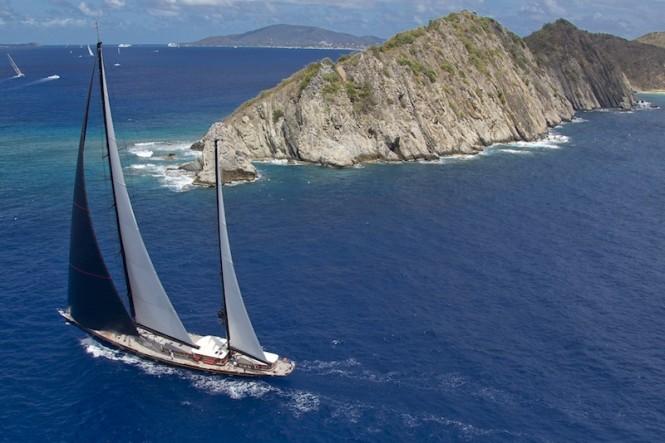 Loro Piana Caribbean Superyacht Regatta and Rendezvous 2012 Race Day 1- MARIE