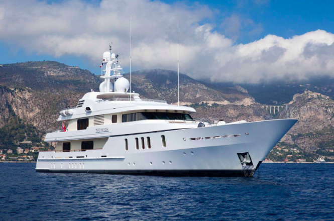 Luxury Charter Yacht TROYANDA by Feadship  - Photographer Marc Paris