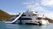 Luxury charter yacht KIMBERLY II - Slide and Towed Tender
