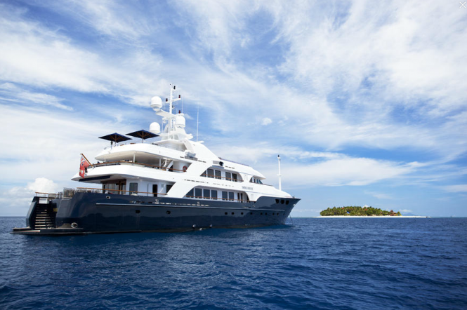 Luxury charter yacht Noble House - Fiji and South Pacific Charters - Photo by Ming Nomchong and Luke Henkel