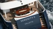 Luxury charter yacht SERENITY II