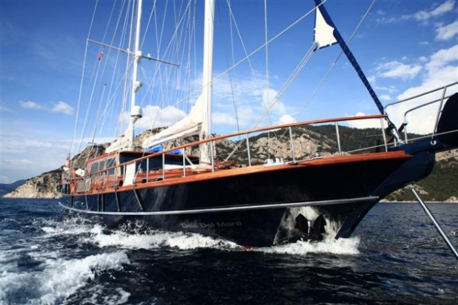 Luxury gulet Dea Delmare available for charter